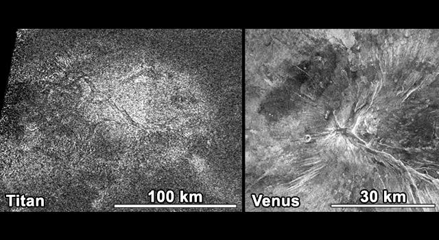 Titan och Venus
